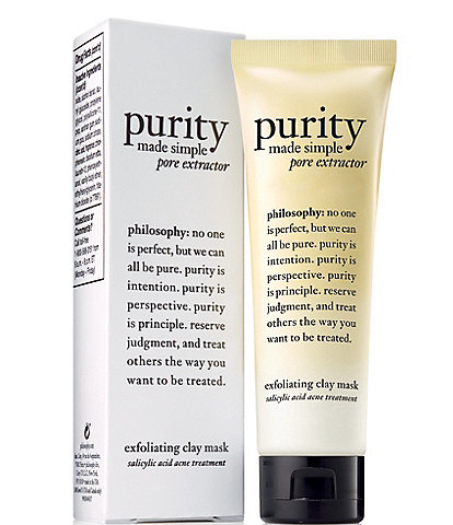 philosophy Purity Made Simple Pore Extractor Face Mask Treatment