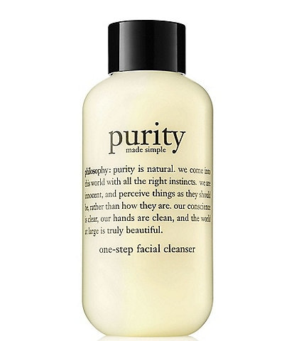 philosophy purity made simple travel size one-step facial cleanser, 3.0 fl. oz.