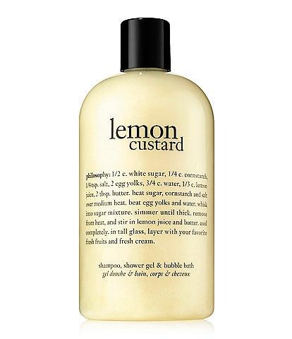 philosophy Shower Gel Lemon Custard