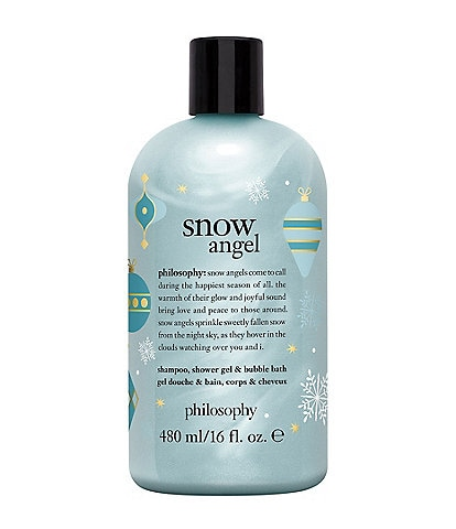 philosophy Snow Angel Shampoo, Shower Gel & Bubble Bath Limited Edition