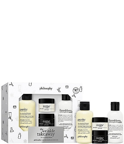 philosophy The Wrinkle Takeawy Anti-Wrinkle Miracle Worker+ Set