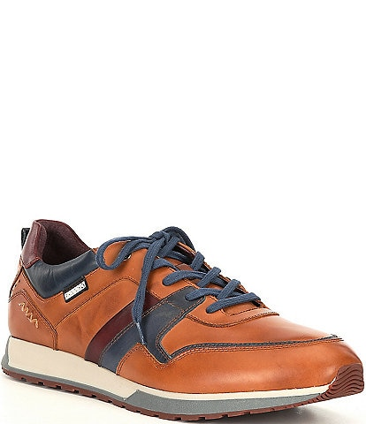 Pikolinos Men's Cambil Leather Lace-Up Sneakers