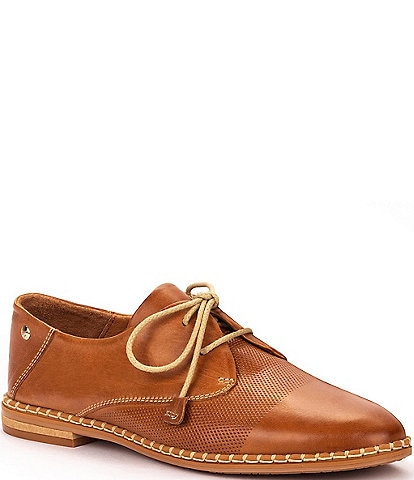 Pikolinos Merida W4F Leather Lace-Up Oxfords