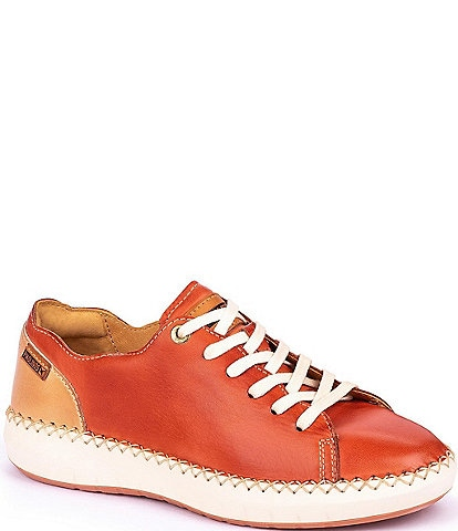 Pikolinos Mesina Leather Lace-Up Sneakers