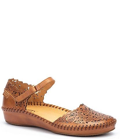 Pikolinos P Vallarta Leather Mary Janes