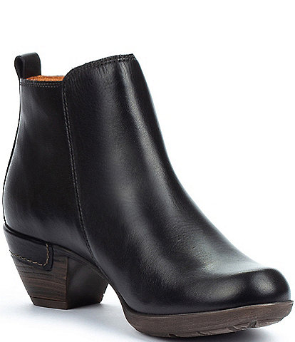 Pikolinos Rotterdam 902 Leather Side Zip Booties