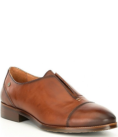 Pikolinos Royal Leather Cap Toe Slip On