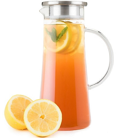 Pinky Up Charlie Glass Iced Tea Carafe