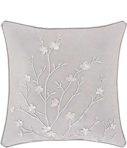 Piper & Wright Cherry Blossom 20#double; Square Decorative Pillow