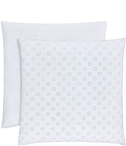 Piper & Wright Lucy Eyelet & Sateen Euro Sham