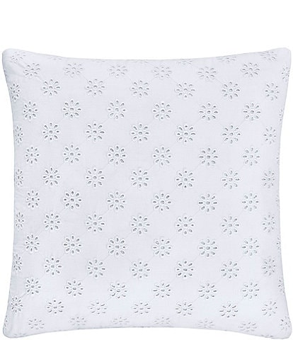 Piper & Wright Lucy Eyelet Square Pillow
