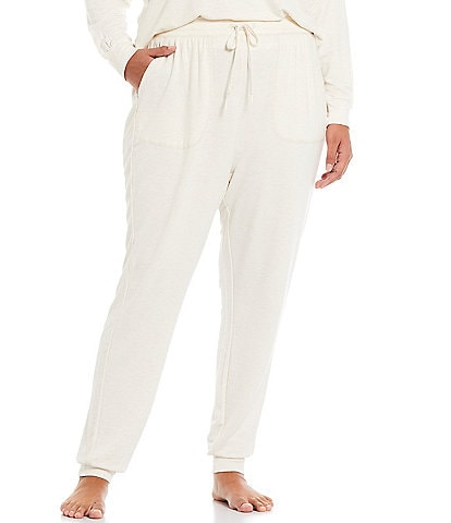 PJ Salvage Plus Essentials French Terry Banded Drawstring Joggers