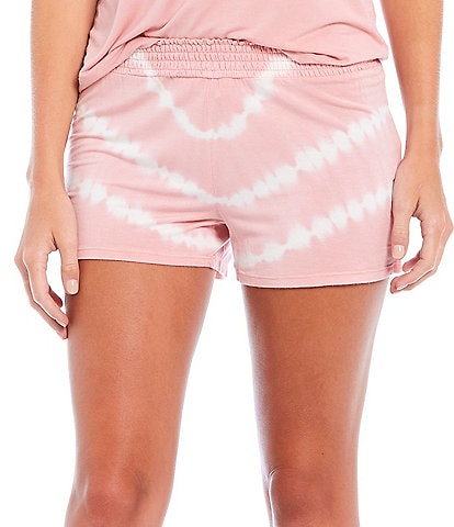PJ Salvage Tie-Dye Jersey Knit Sleep Shorts