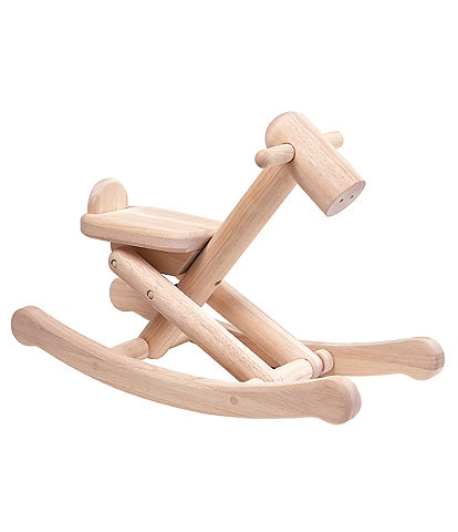 Plan Toys Wooden Foldable Rocking Horse