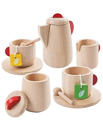 Plan Toys Wooden Tea Set