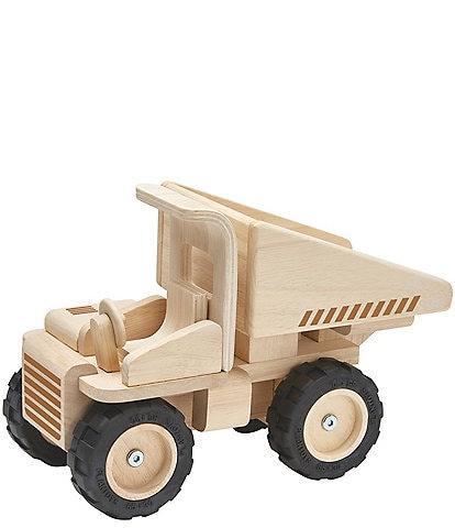 Plan Toys Wooden Toy Dump Truck