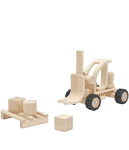 Plan Toys Wooden Toy Forklift