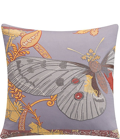 Poetic Wanderlust by Tracy Porter Lillian Decorative Butterfly Print Pillow
