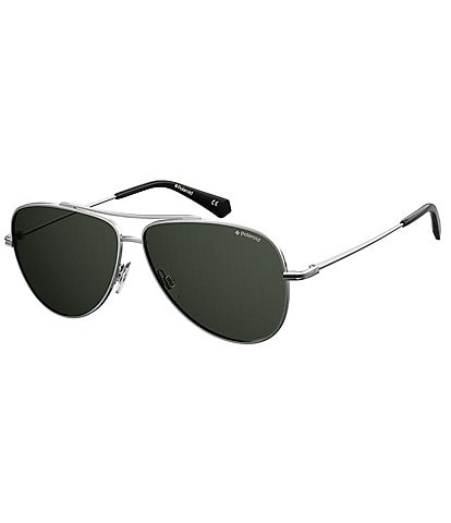 Polaroid Polarized Aviator Sunglasses