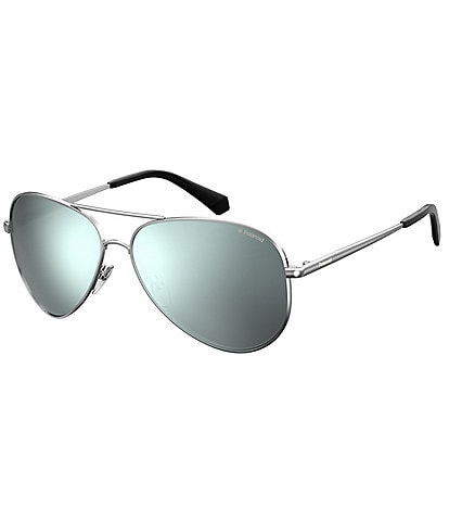 Polaroid Polarized Gradient Aviator Sunglasses