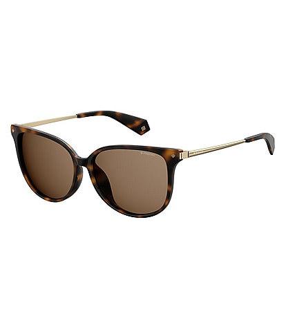 Polaroid Round Polarized Sunglasses