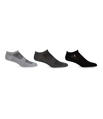 Polo Ralph Lauren 10-13 3-Pack No-Show Socks