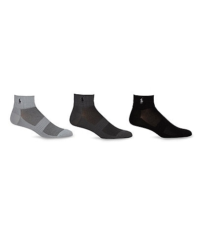 Polo Ralph Lauren 3-Pack Athletic Socks