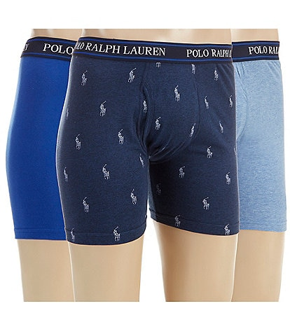 Polo Ralph Lauren 3-Pack Classic Fit Boxer Briefs