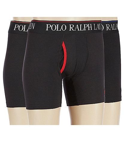 Polo Ralph Lauren 4D-Flex Cool Microfiber 3-Pack Boxer Briefs