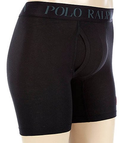 Polo Ralph Lauren 4D Flex Lux Cotton Blend Boxer Briefs 3-Pack