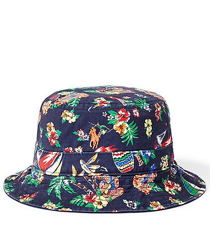 Polo Ralph Lauren Bearwaiian Bucket Hat