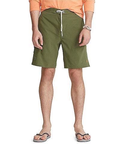 Polo Ralph Lauren Big & Tall 8#double; and 9#double; Inseam Kailua Swim Trunks