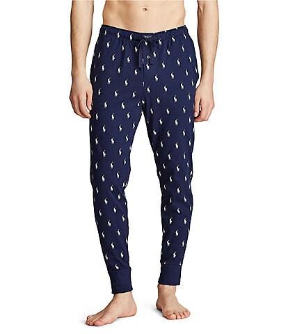 Polo Ralph Lauren Big & Tall All Over Polo Player Knit Pajama Pants