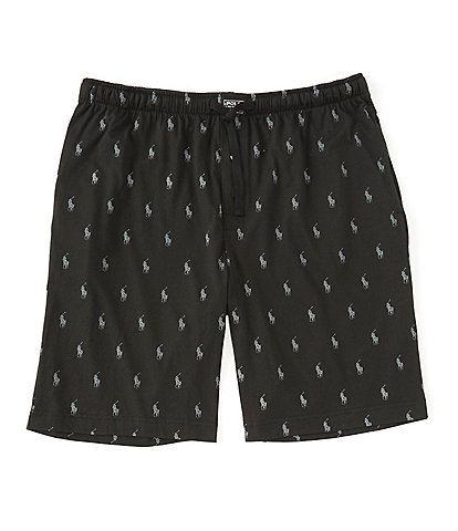 Polo Ralph Lauren Big & Tall All Over Polo Player Knit Pajama Shorts