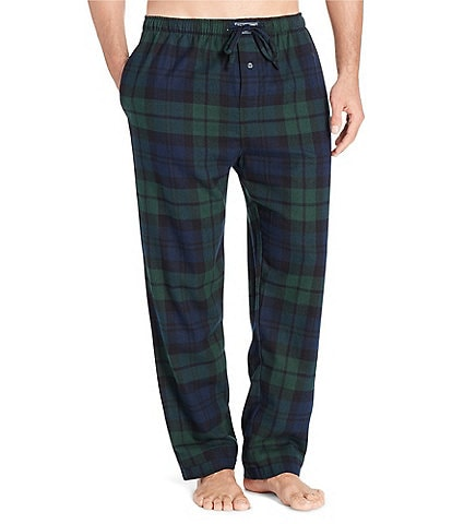 Polo Ralph Lauren Big & Tall Blackwatch Tartan Flannel Pajama Pants