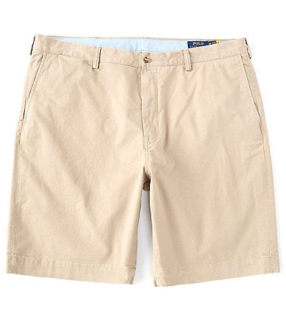 Polo Ralph Lauren Big & Tall Classic Fit 9 1/2#double; and 10 1/2#double; Inseam Stretch Shorts