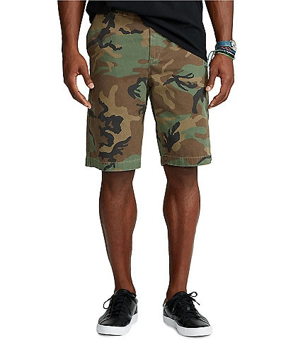 Polo Ralph Lauren Big & Tall Classic Fit Camo 10 1/4#double; and 11 1/4#double; Inseams Twill Shorts