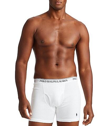 Polo Ralph Lauren Big & Tall Classic Fit Cotton Boxer Briefs 3-Pack