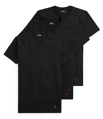 Polo Ralph Lauren Big & Tall Classic Fit Crew 3-Pack Tees