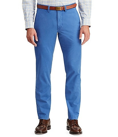 Polo Ralph Lauren Big & Tall Classic-Fit Flat-Front Stretch Chino Pants
