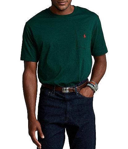 Polo Ralph Lauren Big & Tall Classic-Fit Jersey Pocket Crewneck Tee