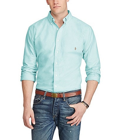 a1e02b1b6 Polo Ralph Lauren Men s Big   Tall Casual Button-Front Shirts ...