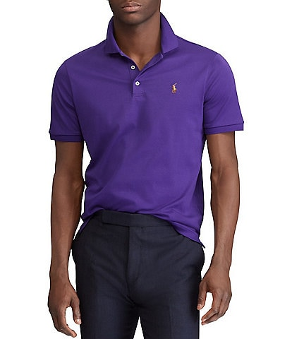 polo ralph lauren big tall classic fit cotton soft solid short sleeve polo