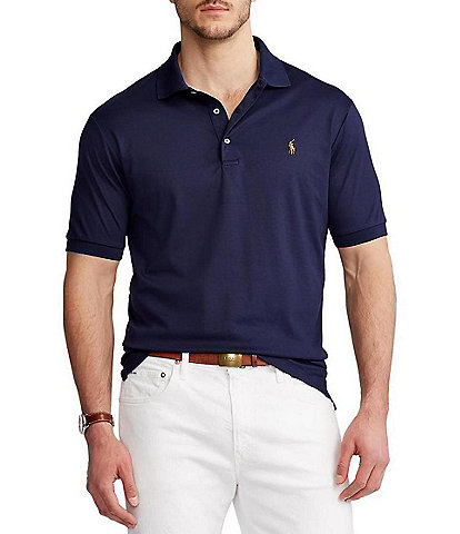 Polo Ralph Lauren Big & Tall Soft-Touch Short-Sleeve Polo Shirt