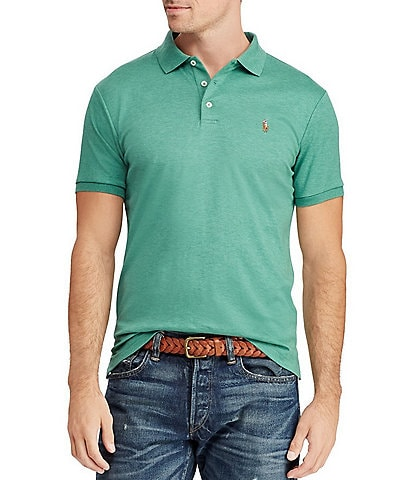 Polo Ralph Lauren Big & Tall Classic-Fit Cotton Soft Solid Short-Sleeve Polo Shirt