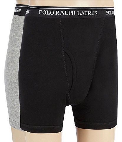 Polo Ralph Lauren Big & Tall Classic Fit Pouch Boxer Briefs 2-Pack