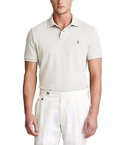 Polo Ralph Lauren Big & Tall Classic-Fit Short-Sleeve Cotton Mesh Polo Shirt