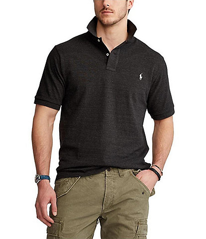 Polo Ralph Lauren Big & Tall Classic-Fit Short-Sleeved Cotton Mesh Polo Shirt
