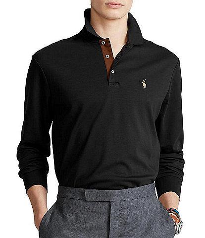 Polo Ralph Lauren Classic-Fit Soft Cotton Long-Sleeve Polo Shirt