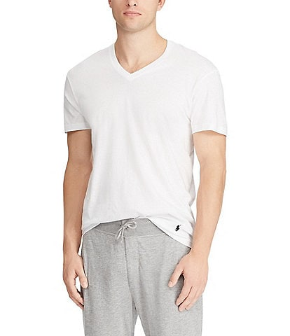 Polo Ralph Lauren Big & Tall Classic Fit V-Neck 2-Pack